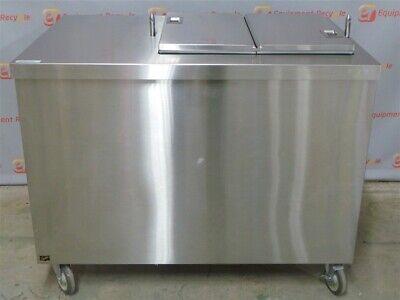 Duke Tmd-46ss M Milk Cooler 20 Gallon Stainless Refrigerated Bi-fold Restaurant