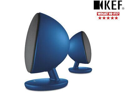KEF EGG Blau Active 2.0 Desktop-Bluetooth-Lautsprecher