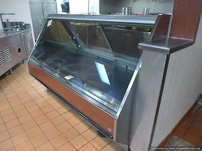Barker Bmd 6 Service Glass Deli Pasta Salad Sushi Grocery Cooler Display Case