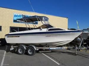 HAINES SIGNATURE 530F POPULAR FIRST BOAT GREAT SIZE Wangara Wanneroo Area Preview