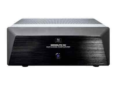 Monolith Multi-Channel Power Amplifier - Black with 5x200 Wa
