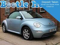 2003 Beetle 2.0 Se Auto Convertible Light Blue Black Hood Mot Full Service - light - ebay.co.uk