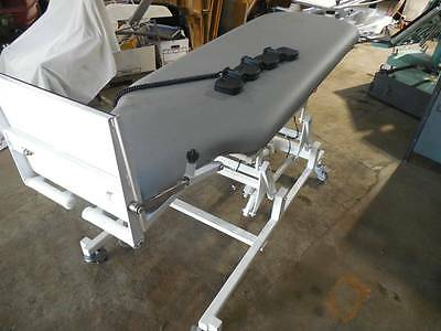 Medical T8610H Electric Exam Tilt Table Patterson Metron Therapy Treatment