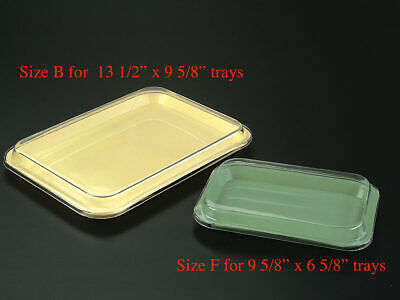 Dental Instrument Set Up Tray Lid Cover Size B Ritter Size F Mini Clear