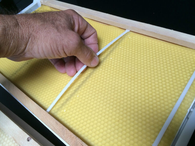 """Wax Foundation Anchors For Bee Frames Deep 9 1/8"""" 200 Pcs Made in U.S.A."""