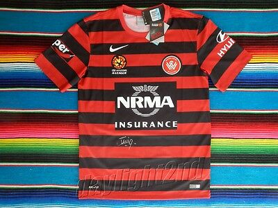 ✺Signed✺ TOMI JURIC Western Sydney Wanderers Jersey COA A-League 2018 image