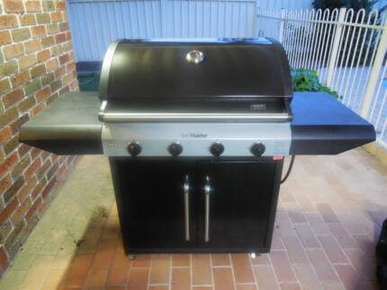 ******Beefmaster 4 burner gas BBQ with Gas Bottle and Cover****** Lake Macquarie Area Preview