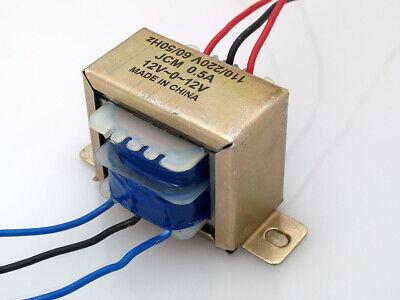 110220vac To 24vac 500ma 0.5a Center Tap Power Transformer 12v-0-12v 24v 12vx2