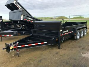 2017 Trailtech L370HD 16' Dump Trailer