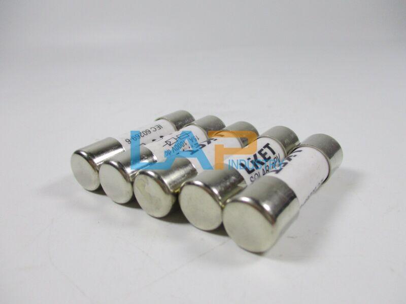 5PCS NEW For Liket ZTPV-25 Fuse Solar PV 10*38mm DC1000v 15A #ZMI