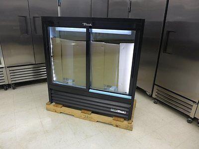 New True Gdm-41sl-48-hc-ld 47 Black Led Glass Soda Slim Pop Refrigerator Cooler
