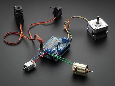 Adafruit Motorstepperservorobot Shield For Arduino I2c V2.3 Kit W Pwm Driver