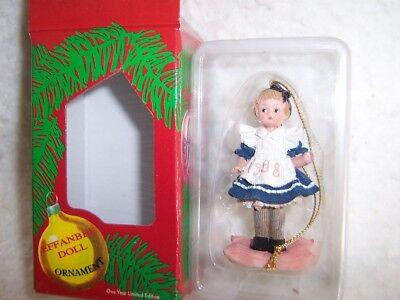 1998 Effanbee Doll Christmas Ornament #F036