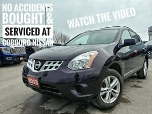 2013 Nissan Rogue SV One Owner  FREE Delivery
