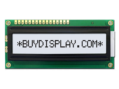 5v Wide Angle 16x1 Character Lcd Module Display Wtutorialhd44780backlight