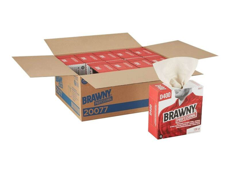 Brawny Professional D400 DRC Wipers Oatmeal 20077