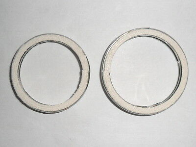 EXHAUST GASKETS for YAMAHA XV535 VIRAGO set of 2