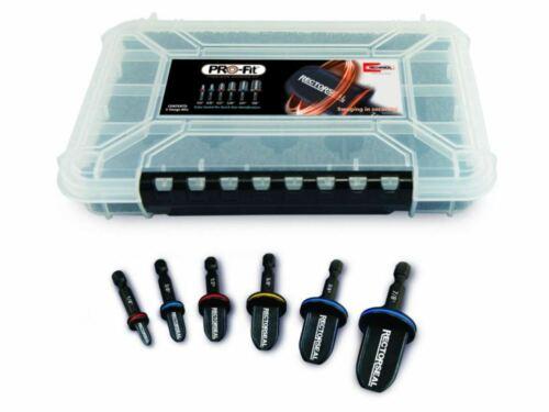"""Rectorseal 87011 PRO-Fit Drill Bit Swage Kit 1/4"""", 3/8"""", 1/2"""", 5/8"""", 3/4"""", 7/8"""""""