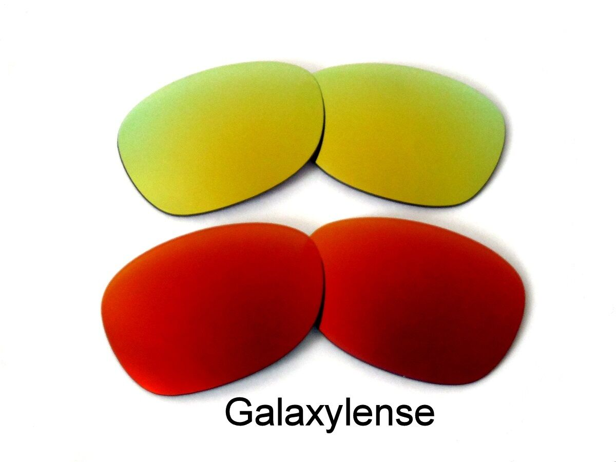 f4b14ed3b9889 Galaxy Replacement Lenses For Ray Ban RB2132 New Wayfarer Red Gold 55mm  2Pair