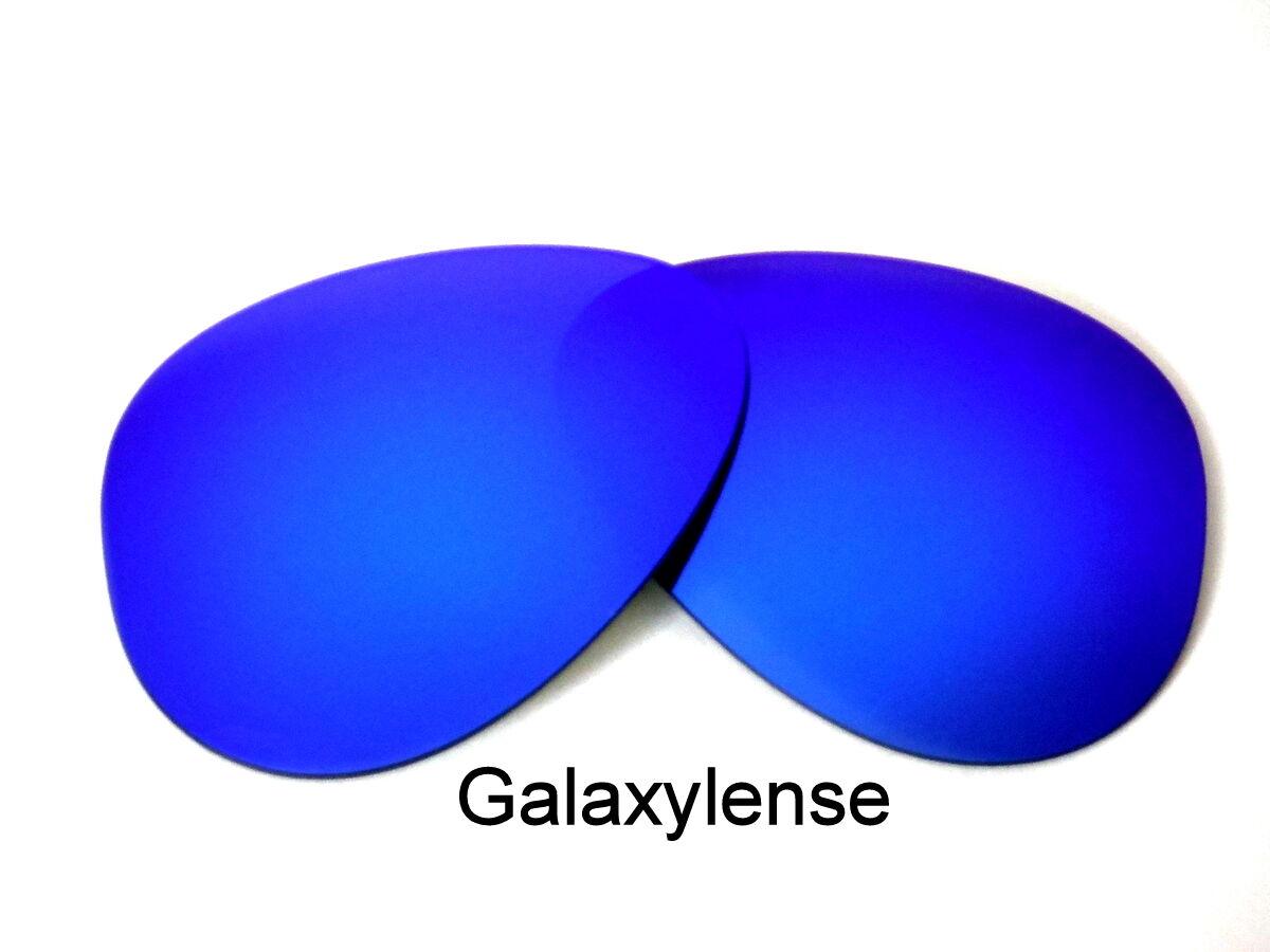 32a52119ed4f2 Lentes de recambio de galaxia para Ray Ban RB3025 Aviator azul 58mm  polarizado