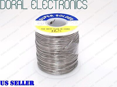 0.6mm 1.0 Lb 453g 6040 Rosin Core Flux Tin Lead Roll Soldering Solder Wire 1lb