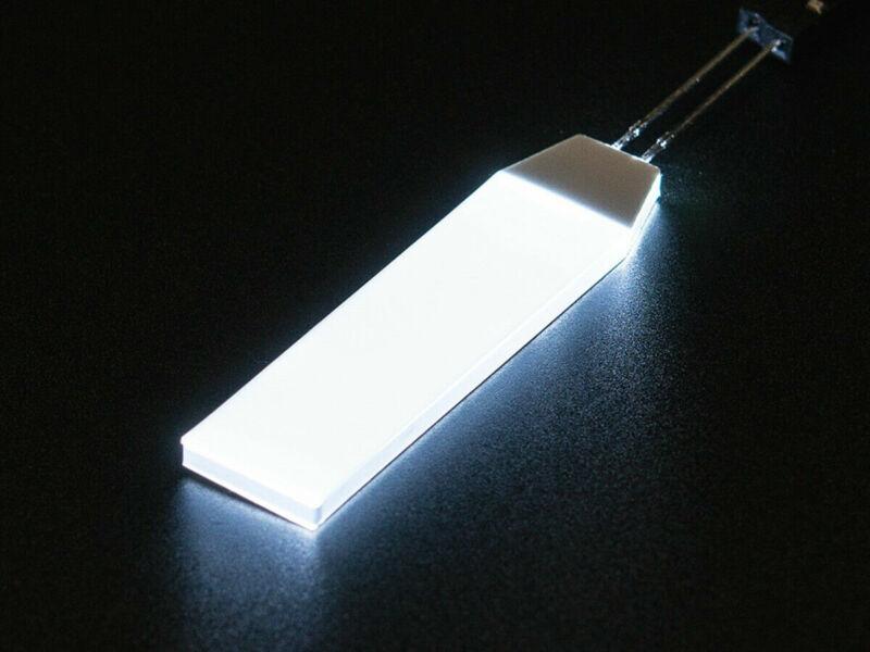 [3DMakerWorld] Adafruit White LED Backlight Module, Small - 12 mm x 40 mm (2pk)