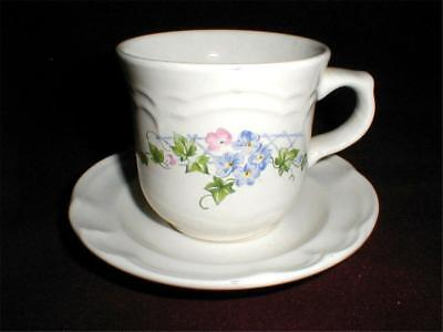 Annabelle Cup (2 Pfaltzgraff China ANNABELLE Cup Saucers- Set of Two)
