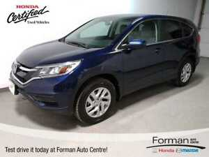 2015 Honda CR-V SE | Certified |Htd Seats|Camera|Btooth|Local