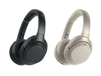 Sony WH-1000XM3 Noise Canceling Wireless Bluetooth Headphones - Black / Silver