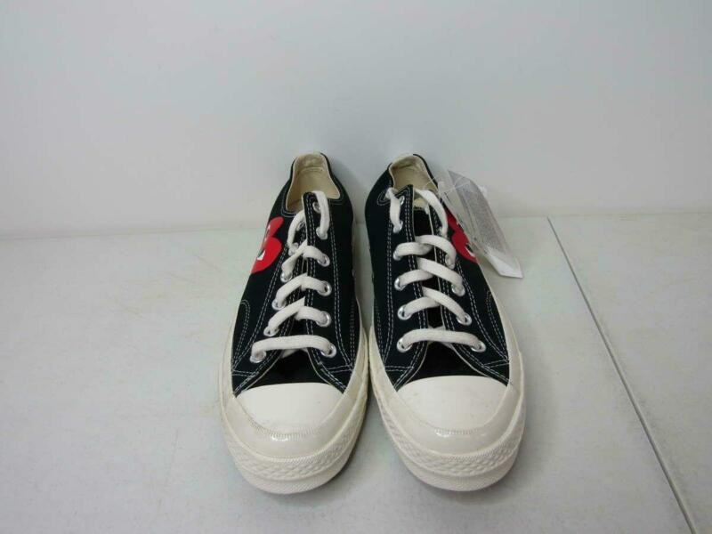 Converse x Play Men's 8/Women's 10 Comme des Garcons Chuck 70 Black/White/Red