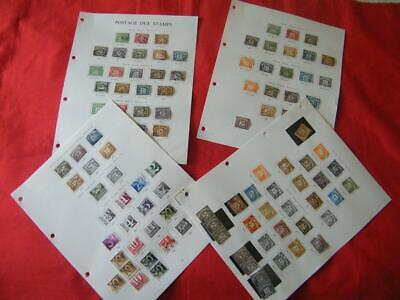 GB Postage Dues Selection. 1914-1970. Mint & Used. 895