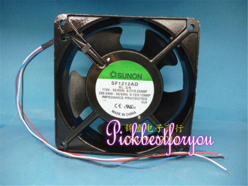 1pcs SUNON SF1212AD 115-240V 50/60hz 4Wire Fan #M99C QL