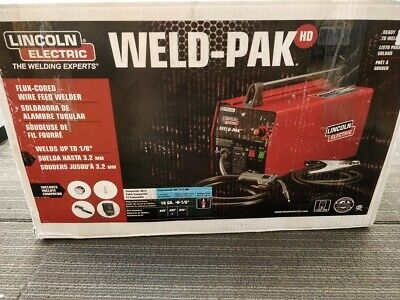 Lincoln Electric Weld-Pak Flux Cored Wire Fed Welder