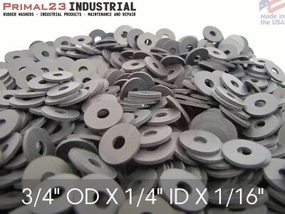 Neoprene Rubber Washers 3 4  Od X 1 4  Id X 1 16  Thickness   Endeavor Series