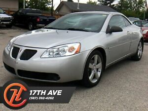 2007 Pontiac G5 GT / Leather / Heated seats / Convertible / LOW