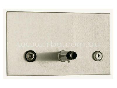 RBA TRIMLINE SOAP DISPENSER 240x140mm 1.3L Recessed, Stainless Steel ()