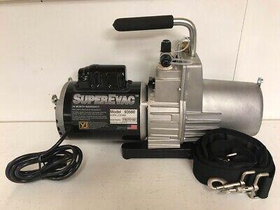 Yellow Jacket 93560 Superevac Vacuum Pump 115 Vac 6 Cfm 15 Micron
