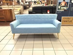 RETRO 3 SEATER FOFA SKY BLUE Logan Central Logan Area Preview
