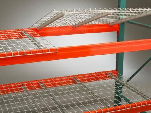 Pallet Racking Wire Mesh Decking 48x46 Decks U-channel Deck for Rack Step Beams
