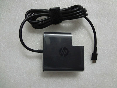 NEW Genuine 20V 3.25A USB-C fr HP Spectre x2 12-c010tu 918170-002 65W AC Adapter