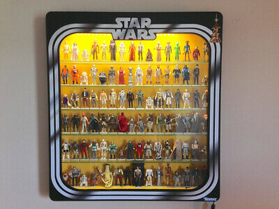 STAR WARS Display Case vinyl graphic Border kit. Build your -