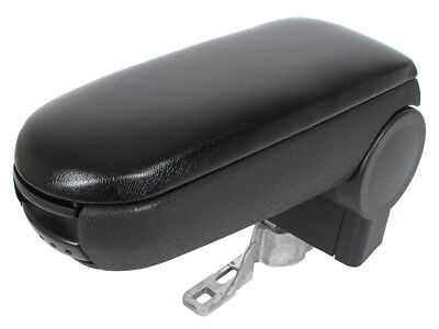AUDI A4 B5 94-01 VW PASSAT B5 96-00 ARMREST + ASSEMBLY SET BLACK ECO LEATHER for sale  Shipping to United Kingdom