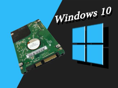 "1TB HDD/SSD 2.5"" SATA Hard Drive Laptop Internal With Windows 10 Pro Installed"