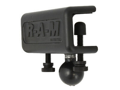 "RAM-B-259U Ram Mounts U-Channel Glare Shield Clamp Base with 1"" Ball"
