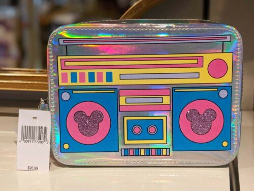 Disney Parks Mousercise Cassette Tape Player Purse Waist Bag Fanny Pack Boombox