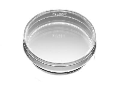 20 Corning Falcon Bacteriological Petri Dishes With Lids Polystyrene 351007
