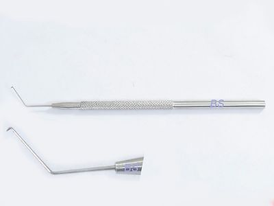 New Ss Nagahara Phaco Choppers Sharp Angled 11mm Ophthalmic Eye Ent Instruments