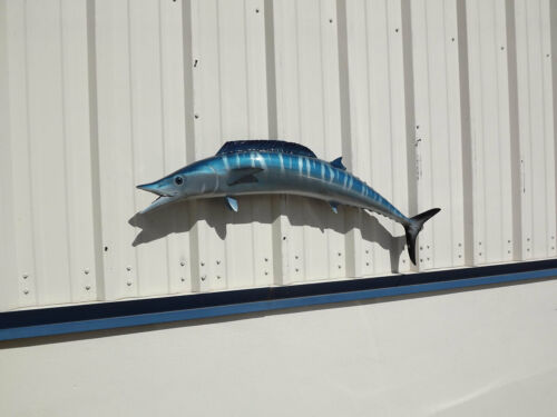 """48"""" Wahoo Two Sided Fish Mount Replica -10 Business Day Production Time"""
