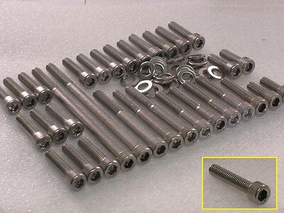 Yamaha XV250 Virago SRV250 Engine Covers 48pc Stainless Steel M6 Allen Bolt Kit for sale  Shipping to Ireland