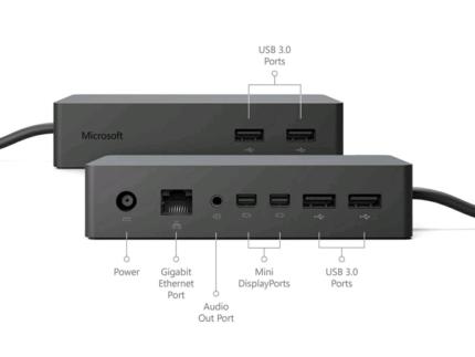 Microsoft Surface Dock - Model: 1661 - Used - Near New Conditon